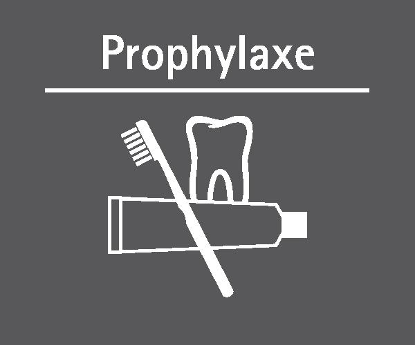 Motiv: (M0350) Prophylaxe weiss-grau