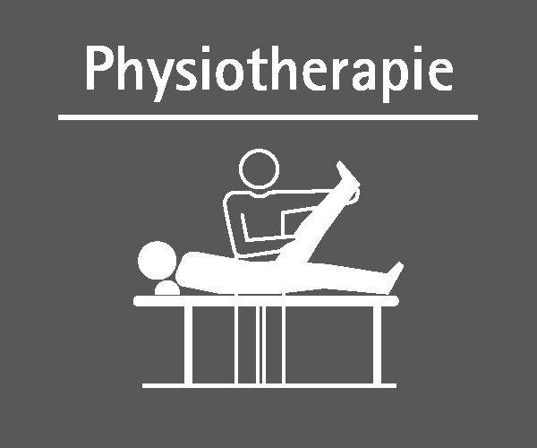 Motiv: (M0290) Physiotherapie weiss-grau