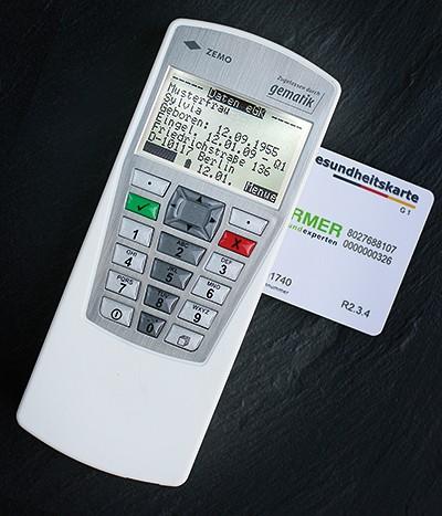 ZEMO VML-GK2 mobiler Chipkartenleser