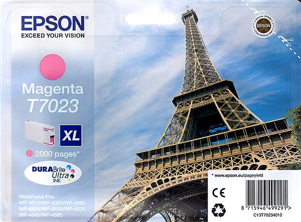Epson Tinte Magenta 21ml WF Pro XL