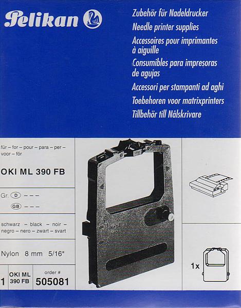 Farbband für OKI ML 390 FB