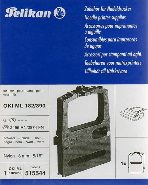 Farbband für OKI ML 182/390