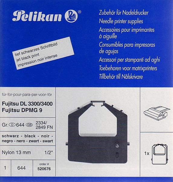 Farbband für Fujitsu DL 3300