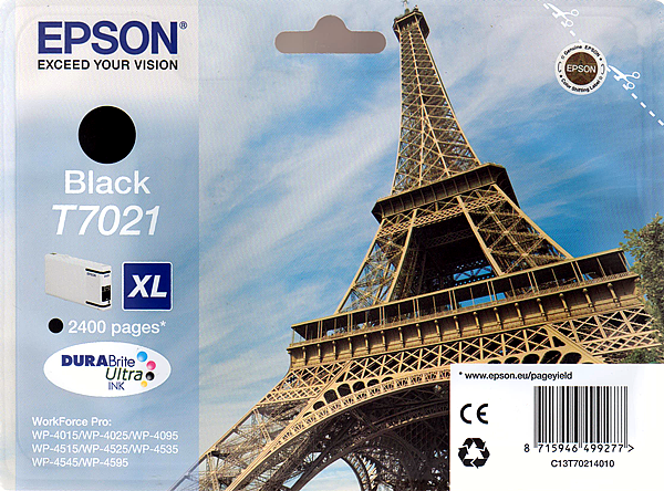 Epson Tinte schwarz 45ml WF Pro XL