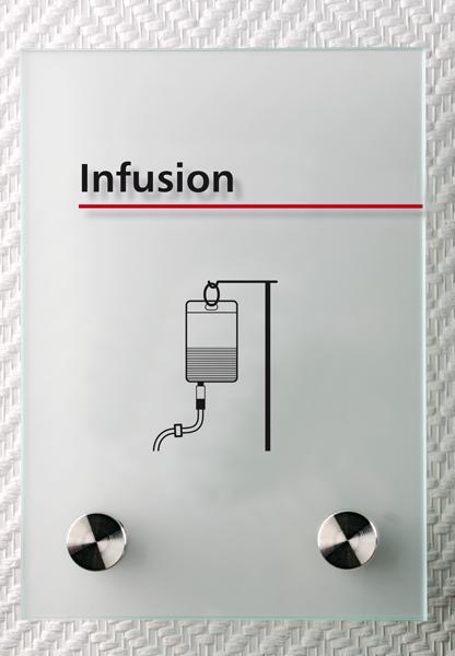 Motiv: (M0220) Infusion schwarz-rot