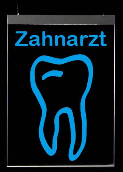 M1110 Zahn rund Nacht blau