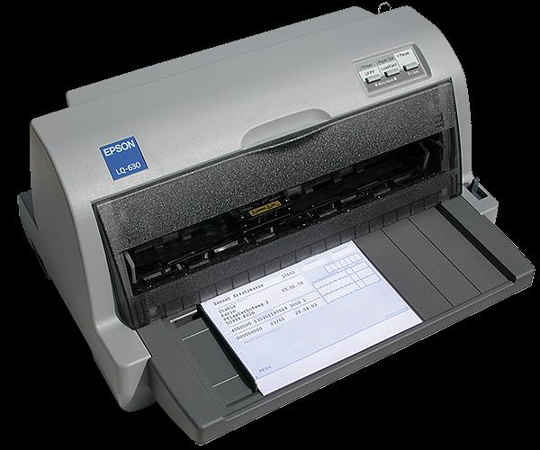 Epson LQ 630 Praxis-Nadeldrucker